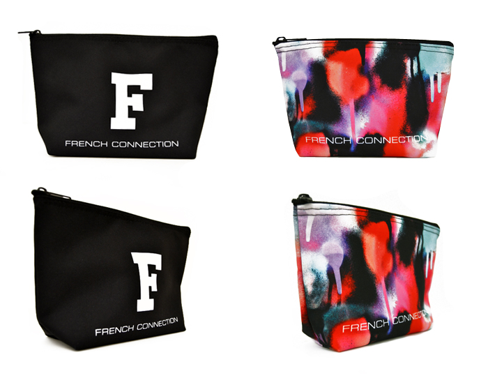 French Connection Cosmetic Bags