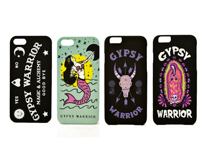 Gypsy Warrior Phone Cases