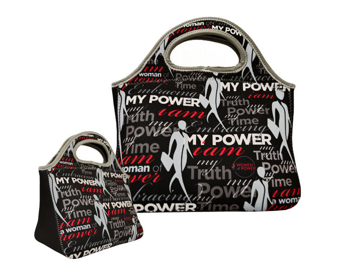 "Black Enterprise ""Women of Power"" Neoprene Lunch Bag"