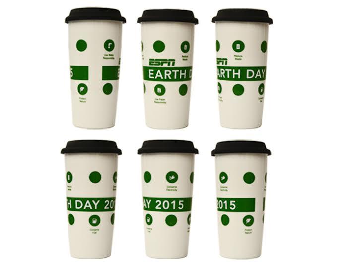 ESPN and Starbucks Celebrate Earth Day!