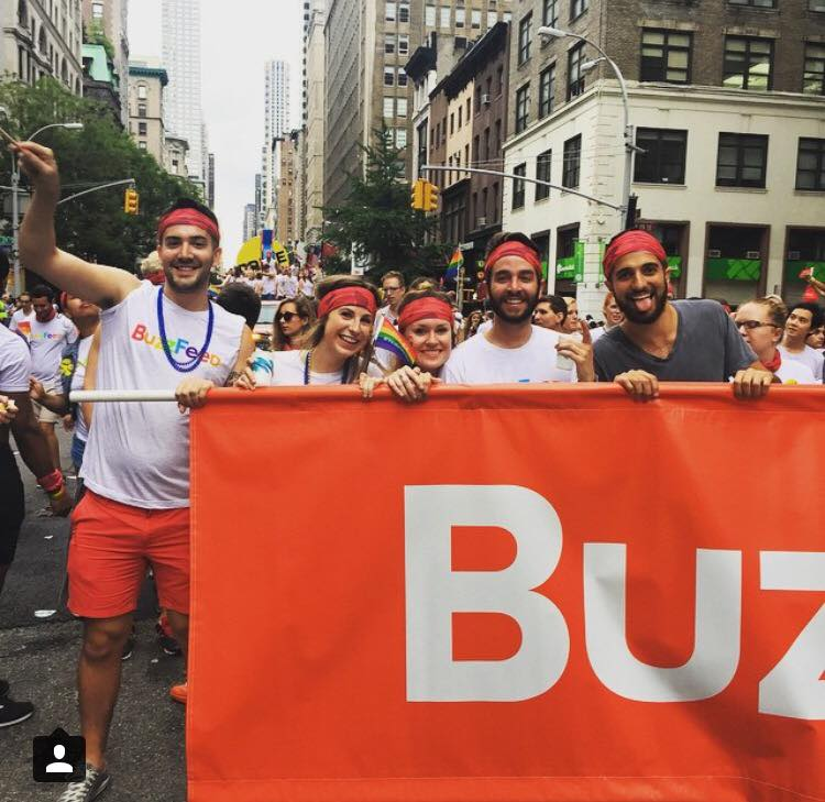 Buzzfeed Joins In On NYC Pride Week!