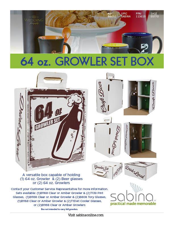 Growler Set