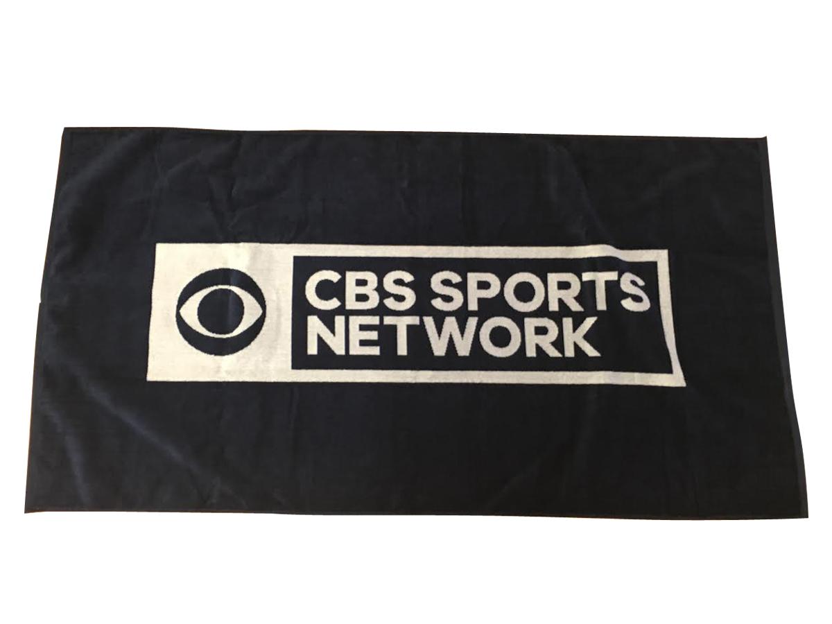 CBS Sports Network Woven Towel