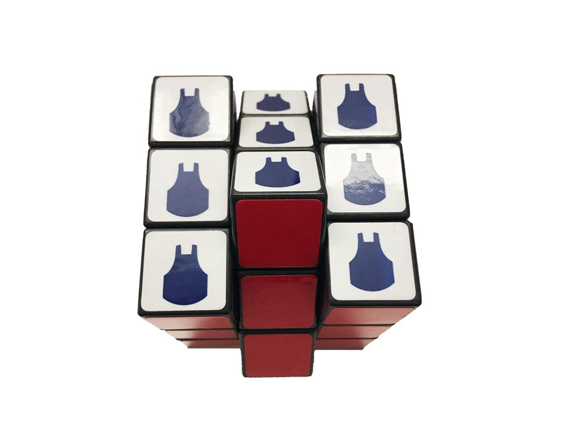 Blue Apron Rubix Cube