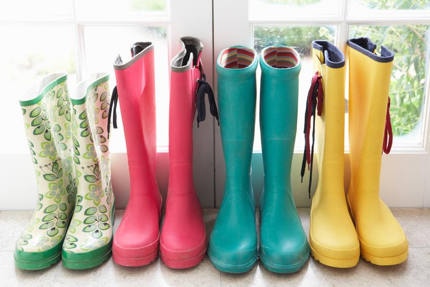 April Showers Bring May Flowers – Custom Rain Boots!