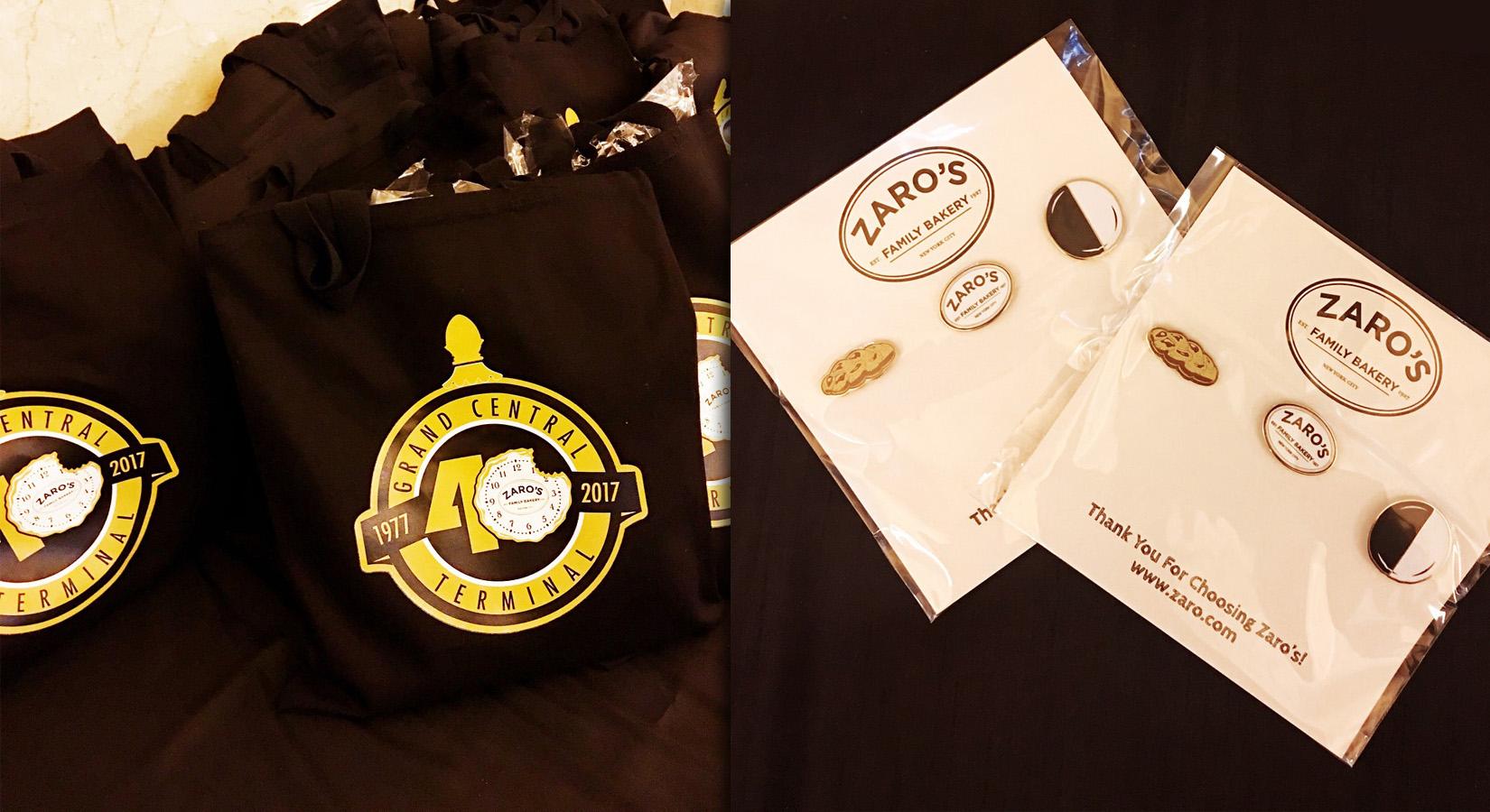 #CreatedByCaptiv8: Zaro's Family Bakery 40th Celebration Merchandise