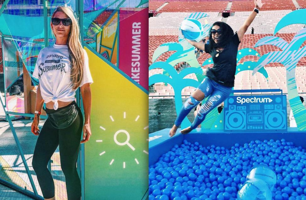 #CreatedByCaptiv8: Pandora Radio 'Sounds Like Summer' Concert Merchandise