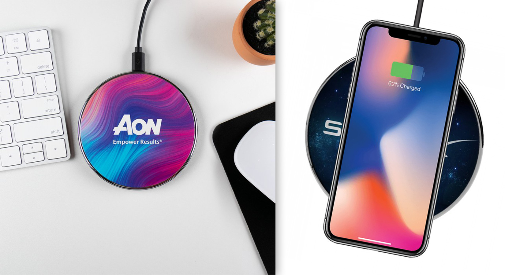 The ProCharge Wireless Charging Pad with Custom Full Color Design