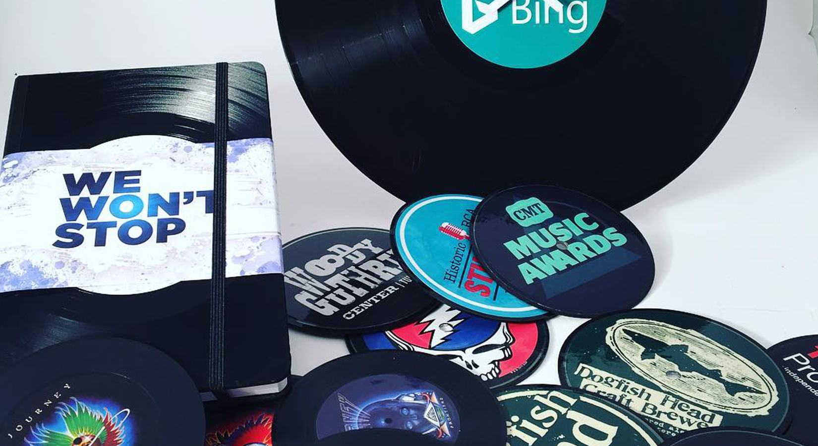 Swag Made Out Of Vinyl Records!