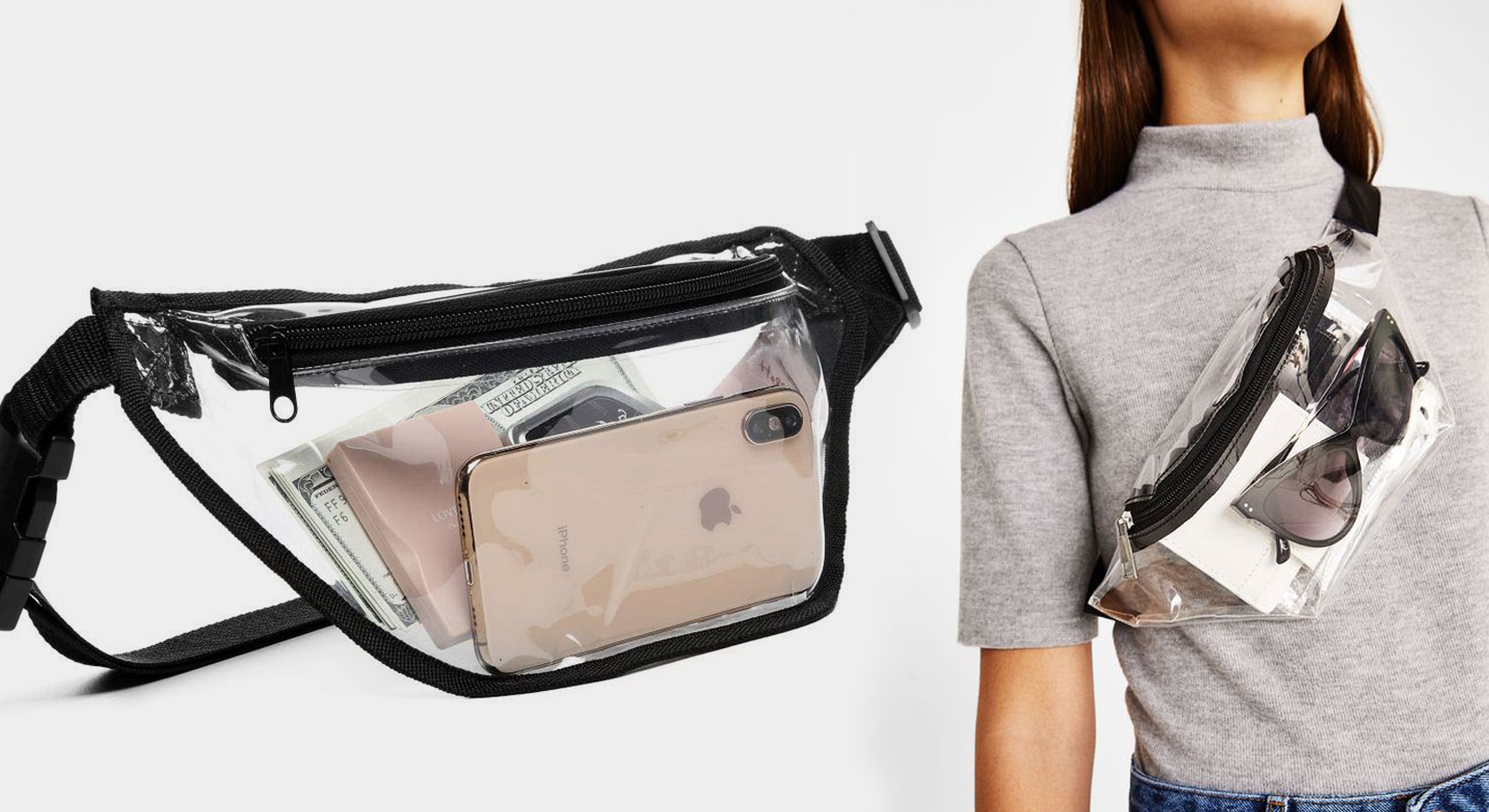 #TrendingNow: Clear Fanny Packs