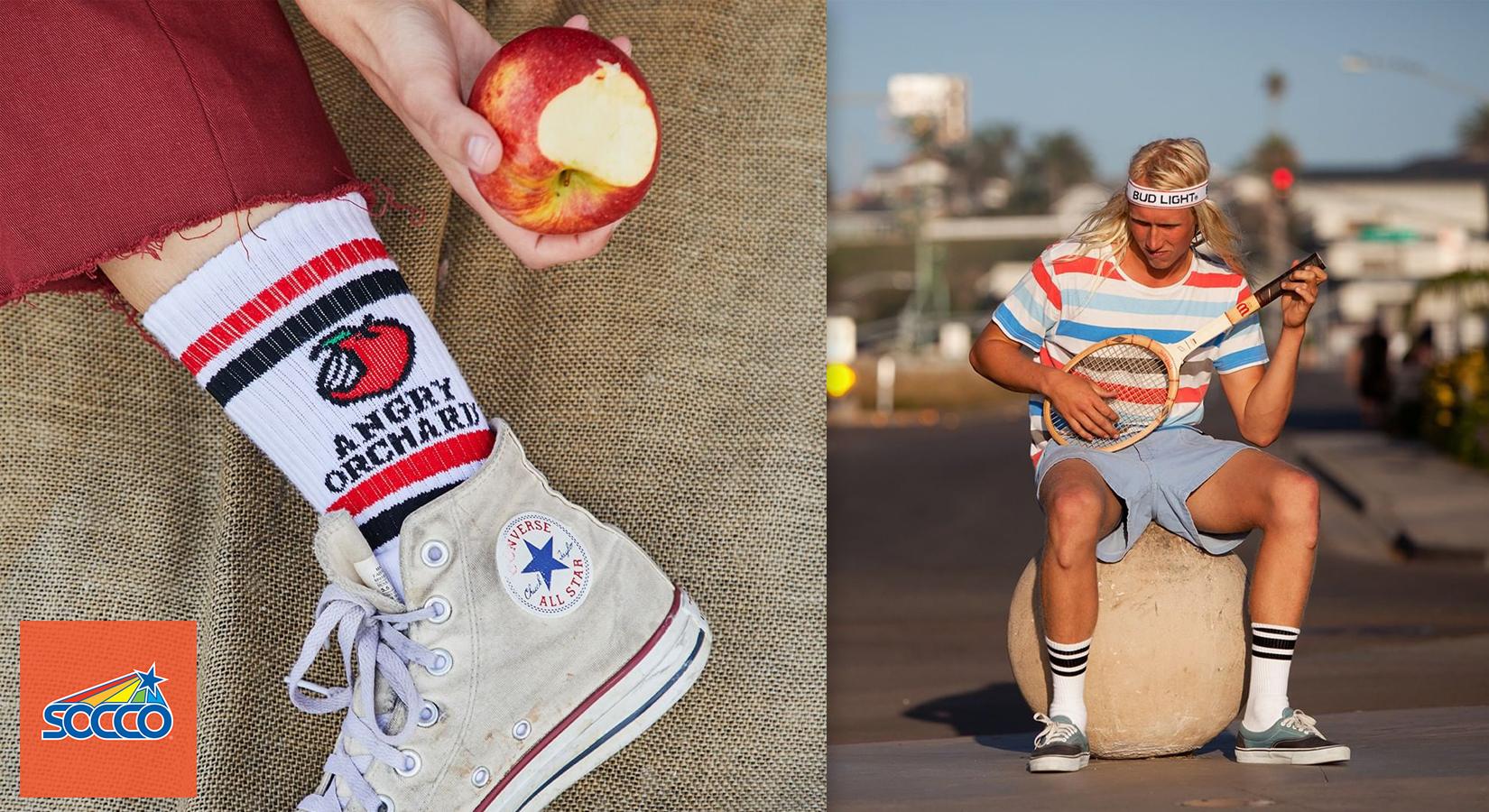 Get Groovy with Custom SOCCO Socks