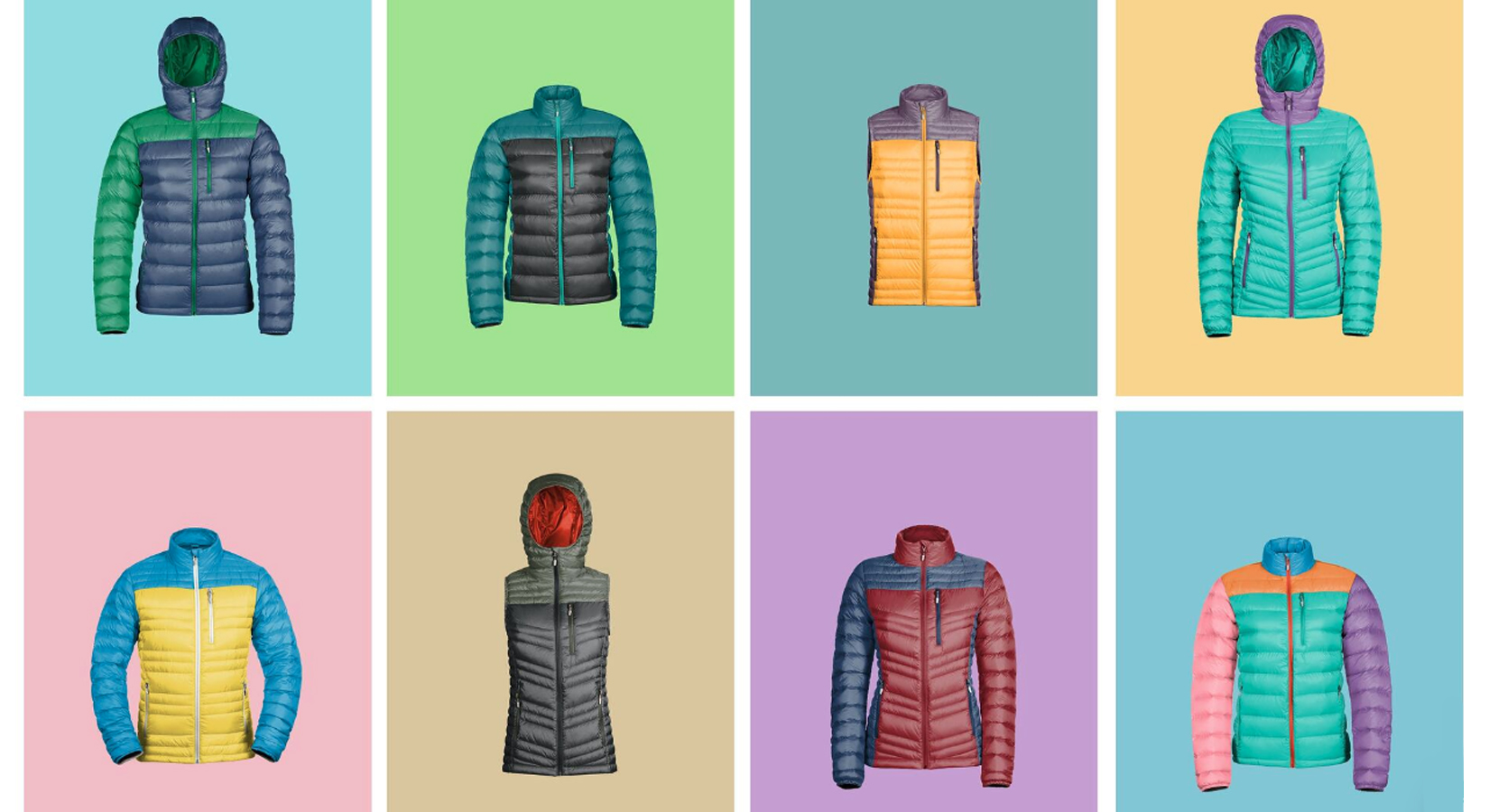 Fully Custom Puffy Down Jackets & Vests