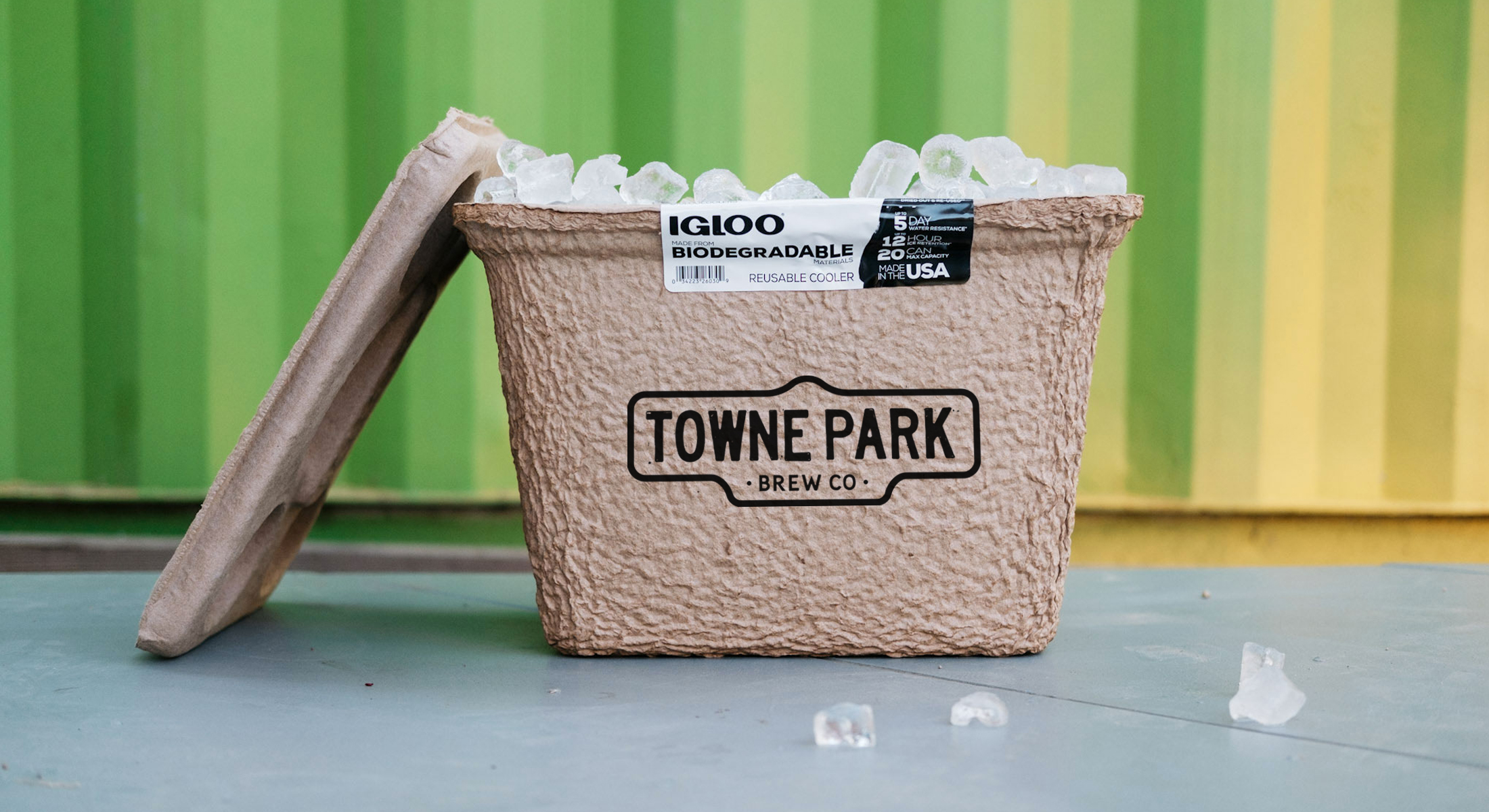 Igloo Has Launched Its First-Ever Biodegradable Cooler – Now With Your Logo!