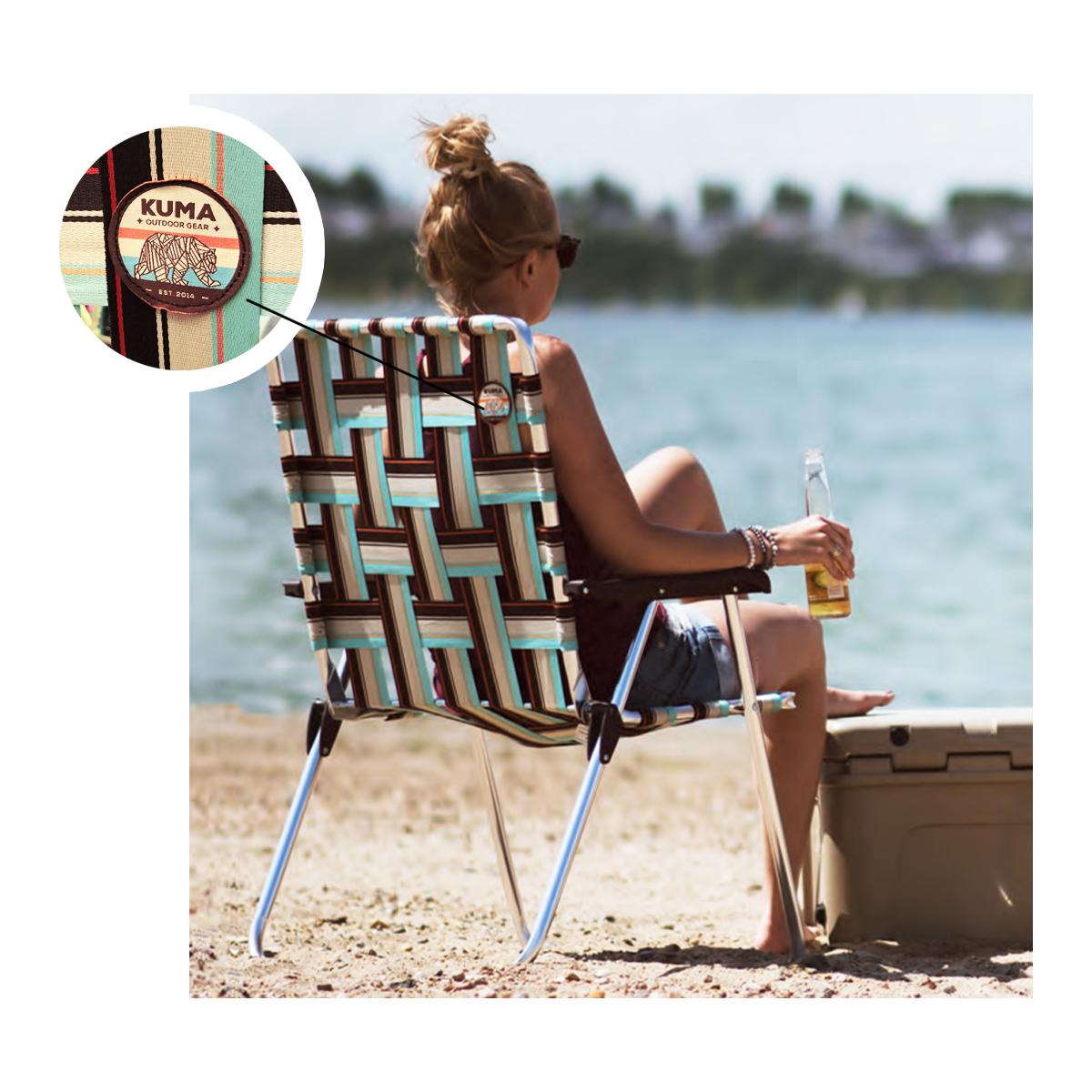 Retro Webbed Lawn Chairs Captiv8