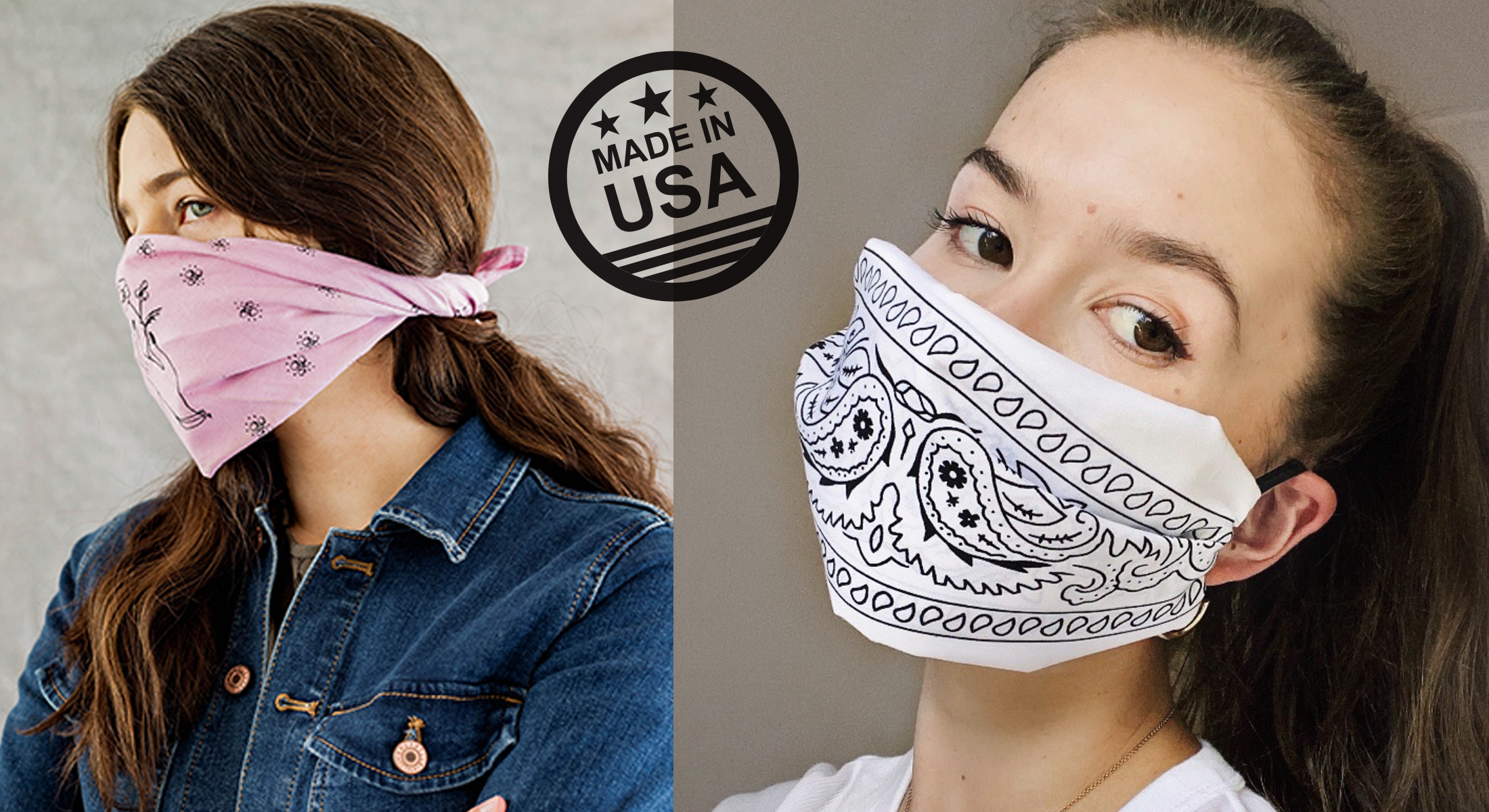 USA Made Custom Bandannas