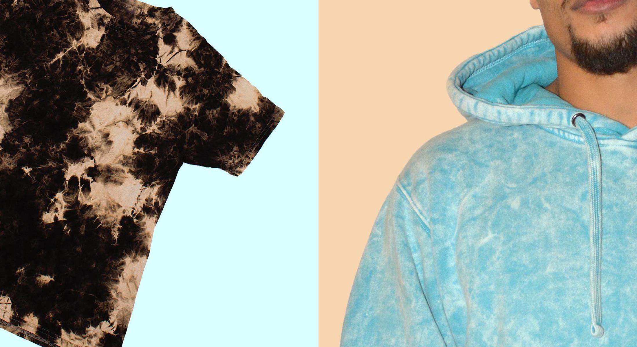 Custom Tie Dye & Garment Dye Apparel & Dad Hats