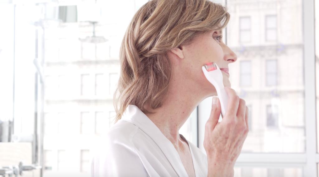 GloPro by Beauty Bioscience the best micro needling tool.