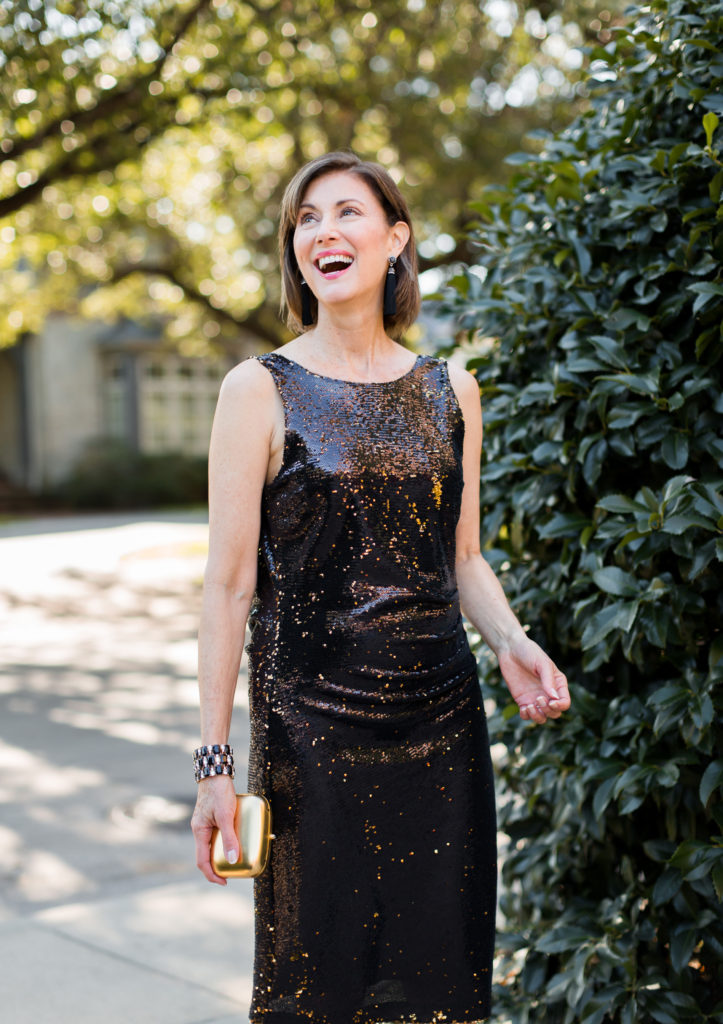 Glitz and shine for dressing up from Zara