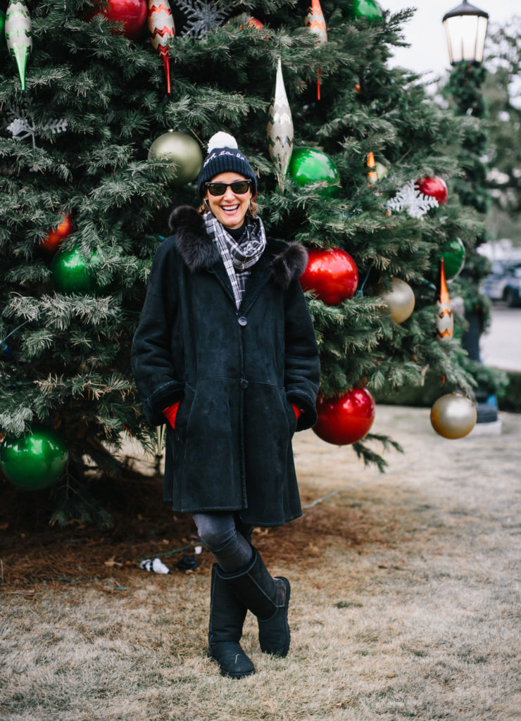 It's cold outside and you need hat, coat and scarf from Nordstrom
