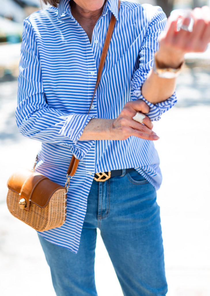 Dallas wardrobe consultant suggests rolling your sleeves