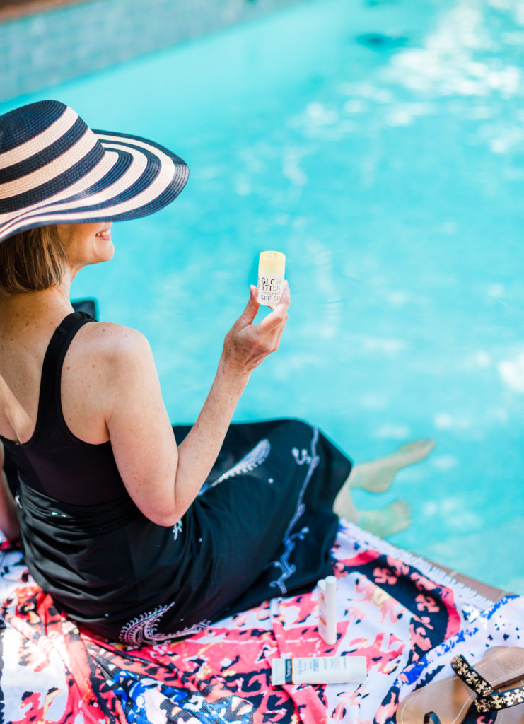 Super Goop has amazing sunscreen products for summer skin care over 50