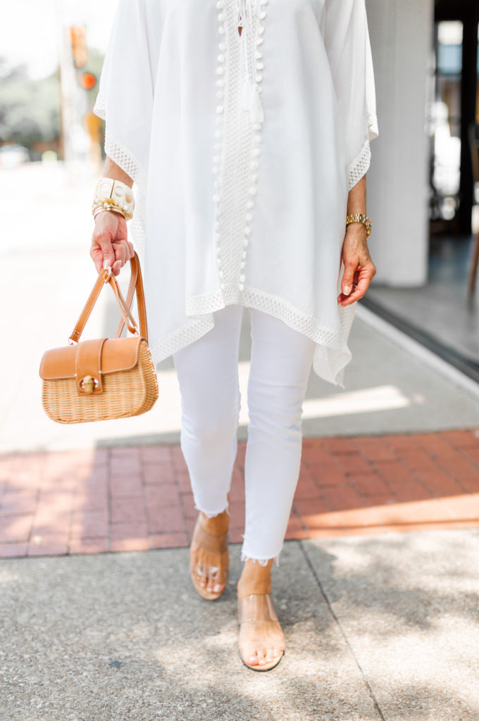 Fashionomics sharing shopping my closet - my fave white jeans