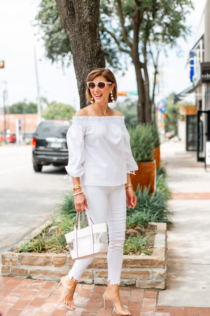 all white outfit for summer