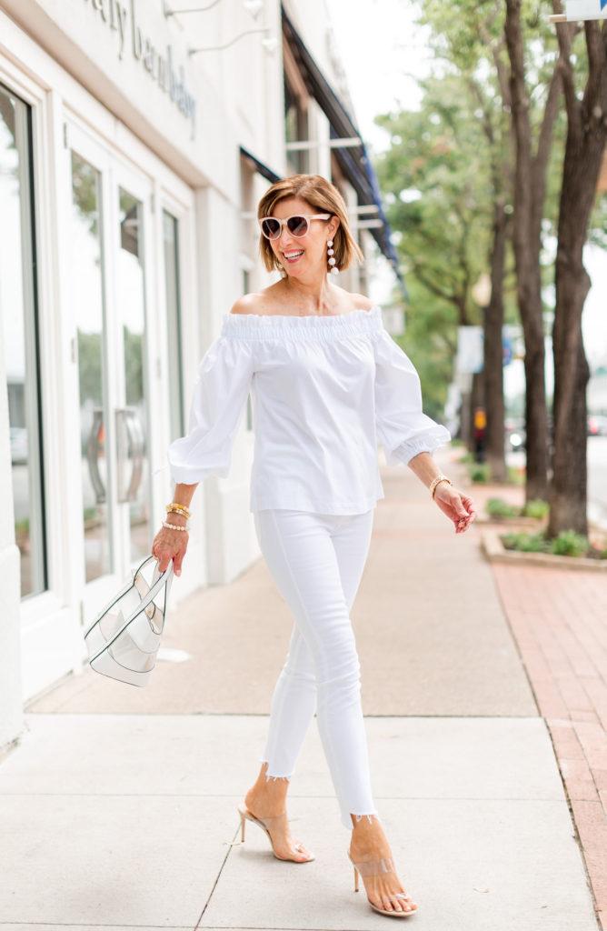 Shopping My Closet - Date Night Whites