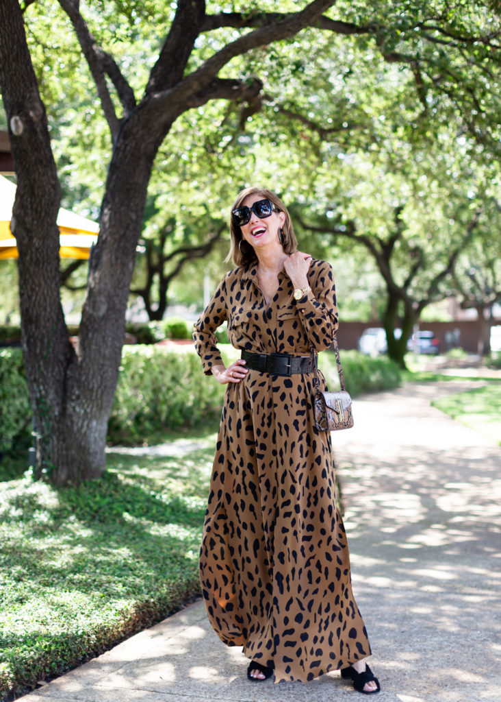 Dresses for Fall Animal Prints by L'Egence