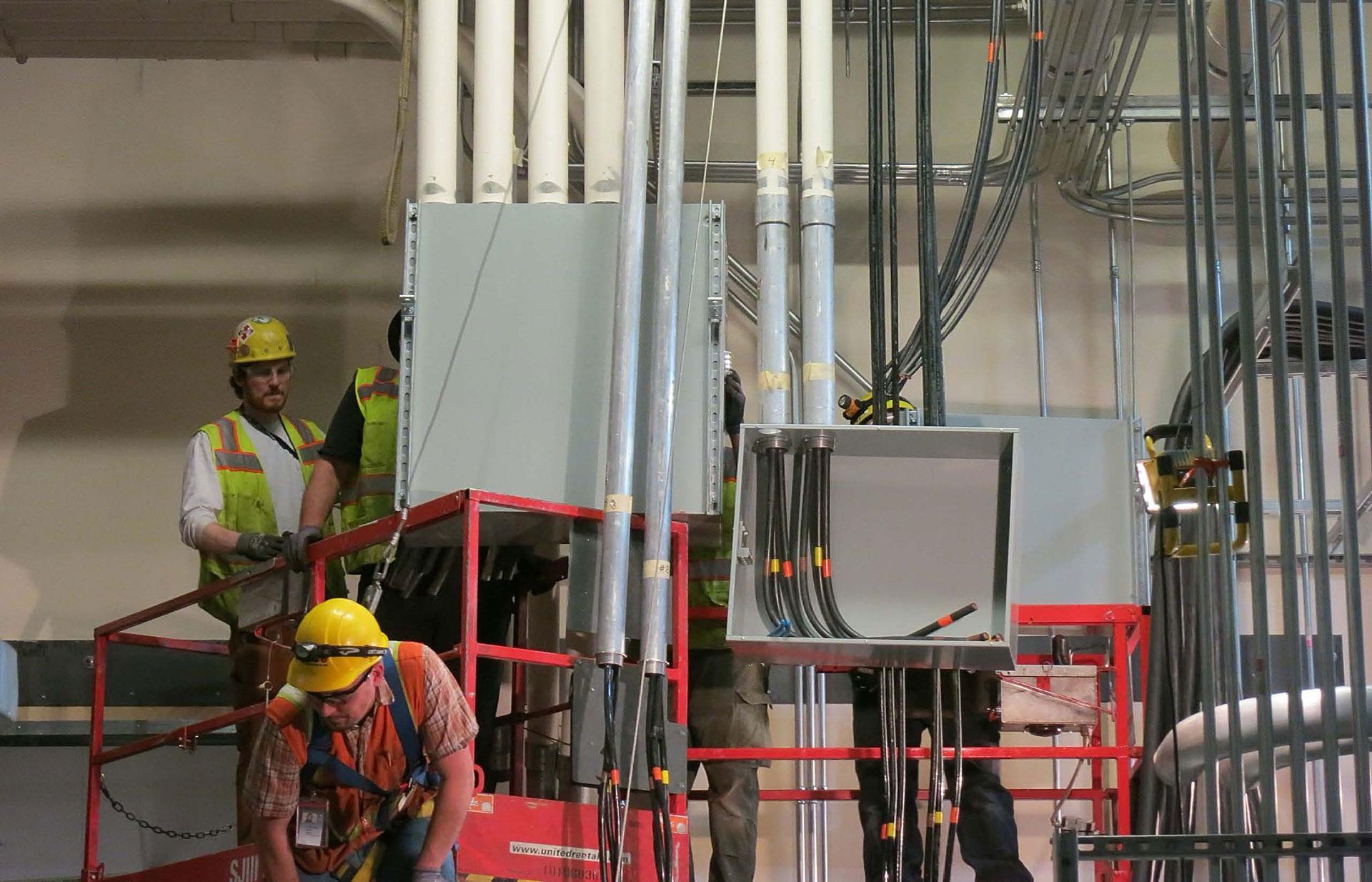 Dutton Electric crane retrofit