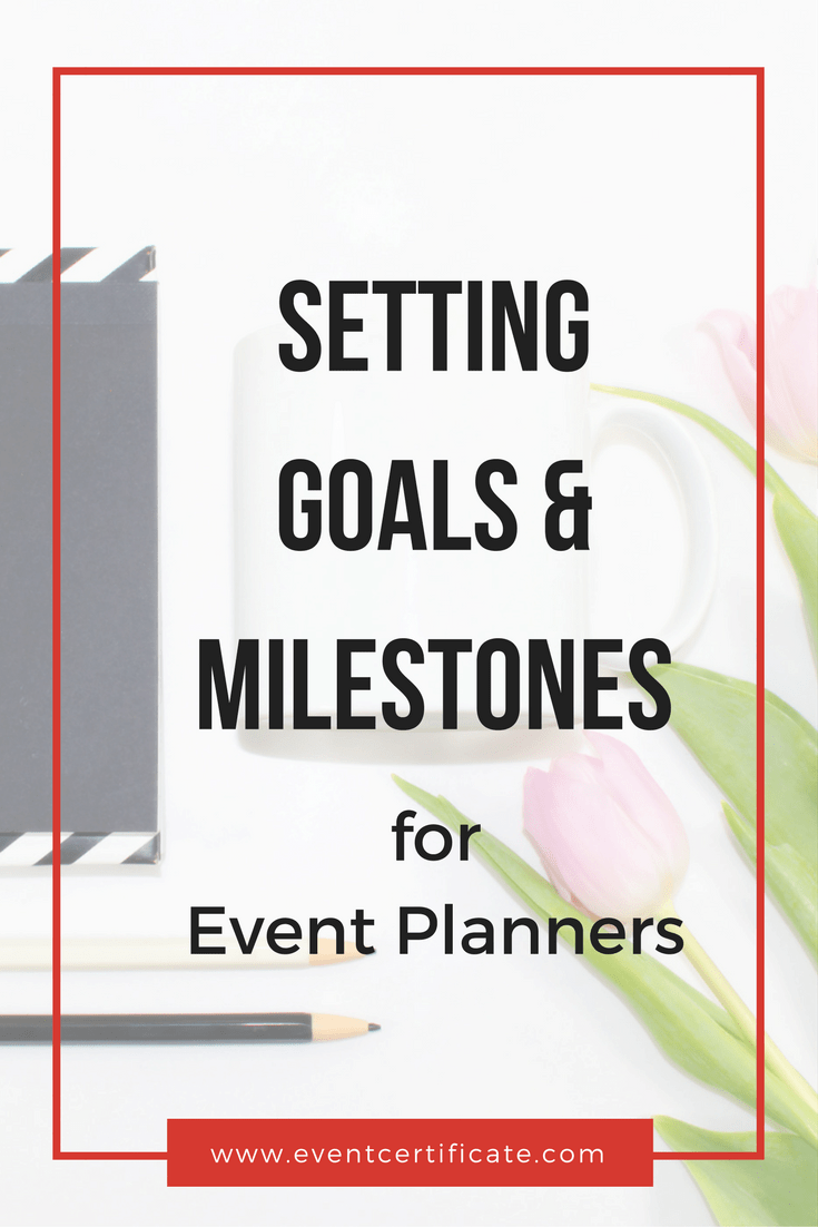 setting goals pinterest image