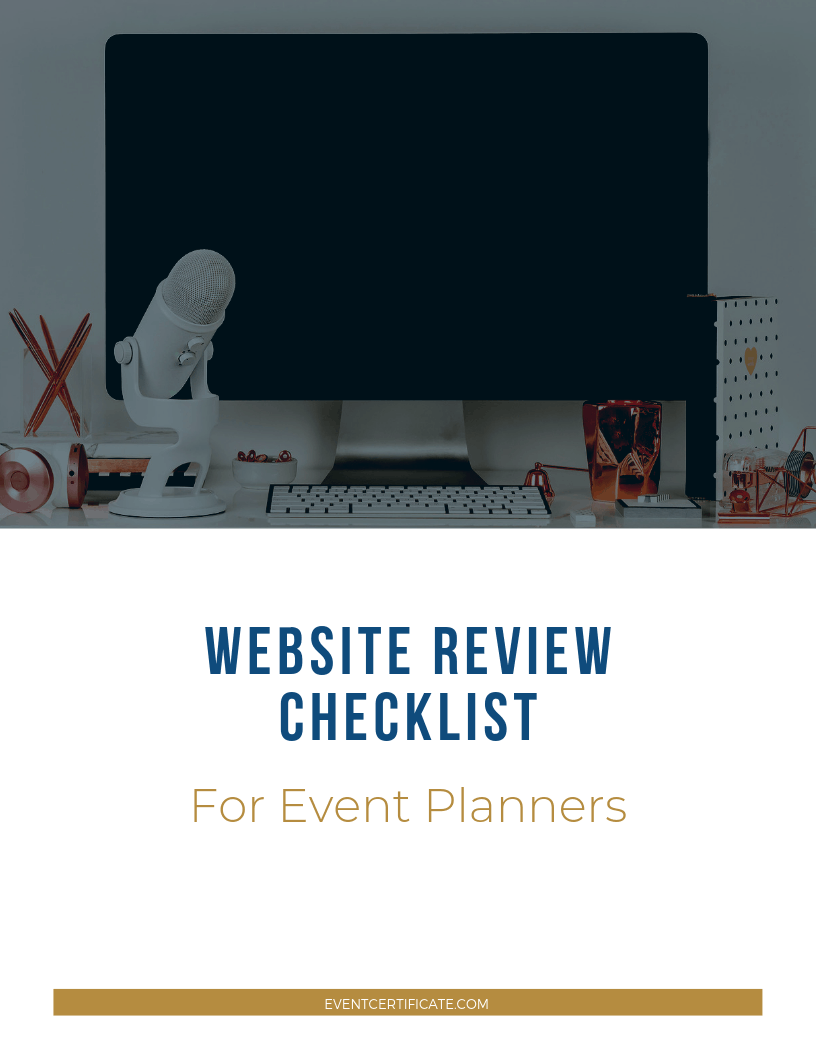 best websites review checklist
