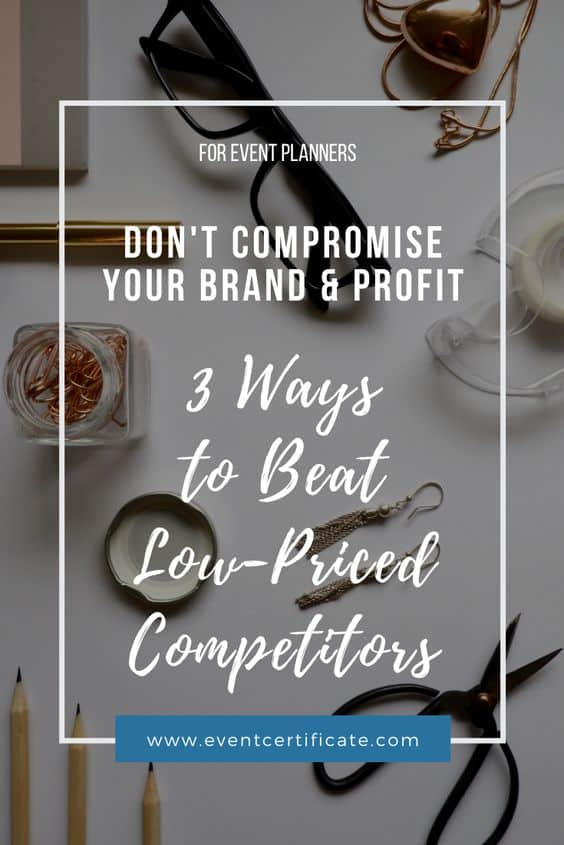 beat low prices competitors event planner