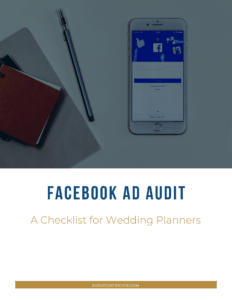 facebook ad audit checklist for event planners