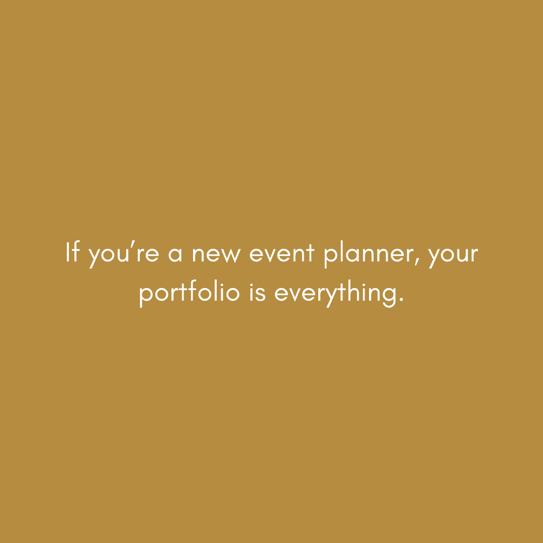 starting an event planning business in 2020 quote