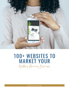 140 Event Planner Website Marketing Guide