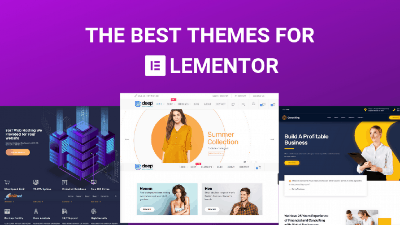 best websites elementor