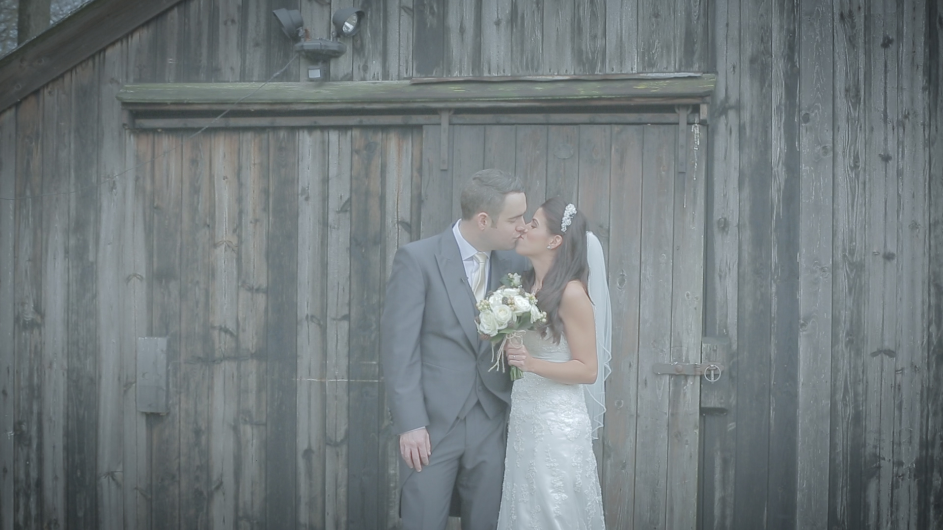 Raw wedding film rushes, without colour grading
