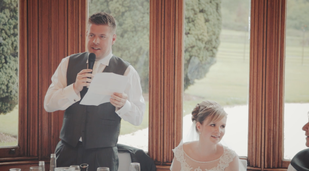 With mic! (Wedding video Cornwall, Devon, Somerset)
