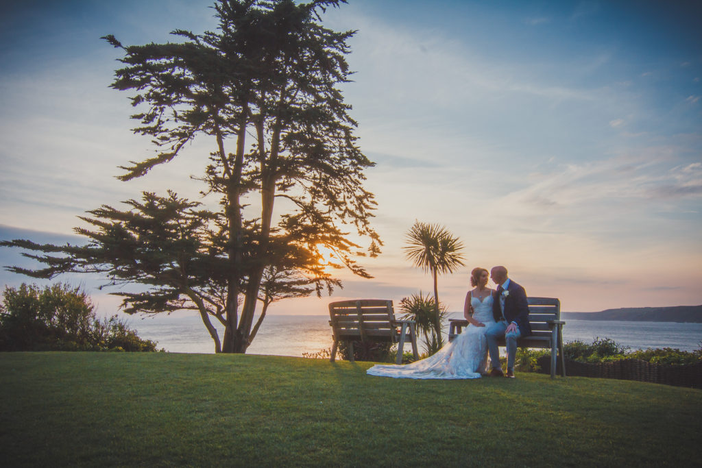 Wedding photography Cornwall Polhawn Fort