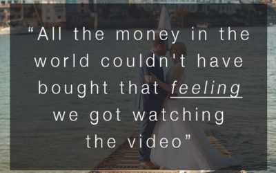 """All the money in the world couldn't have bought that feeling…"" – SWWA 2018 Voter Comments – Wedding Video"