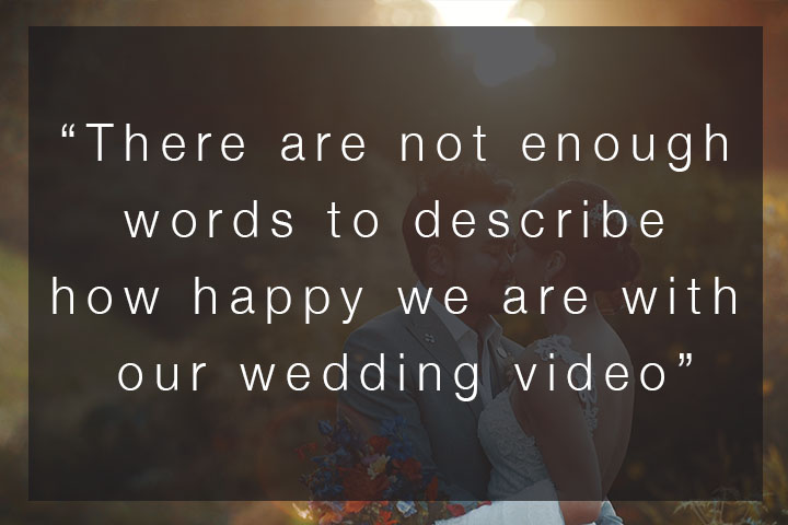 """""""There are not enough words to describe how happy we are…"""" – SWWA 2018 Voter Comments – Wedding Video"""