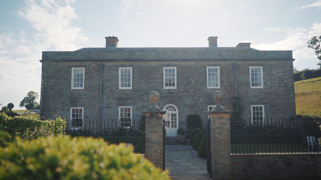best wedding video venue cornwall, Shilstone House
