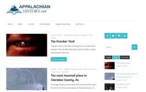 Appalachian History Website