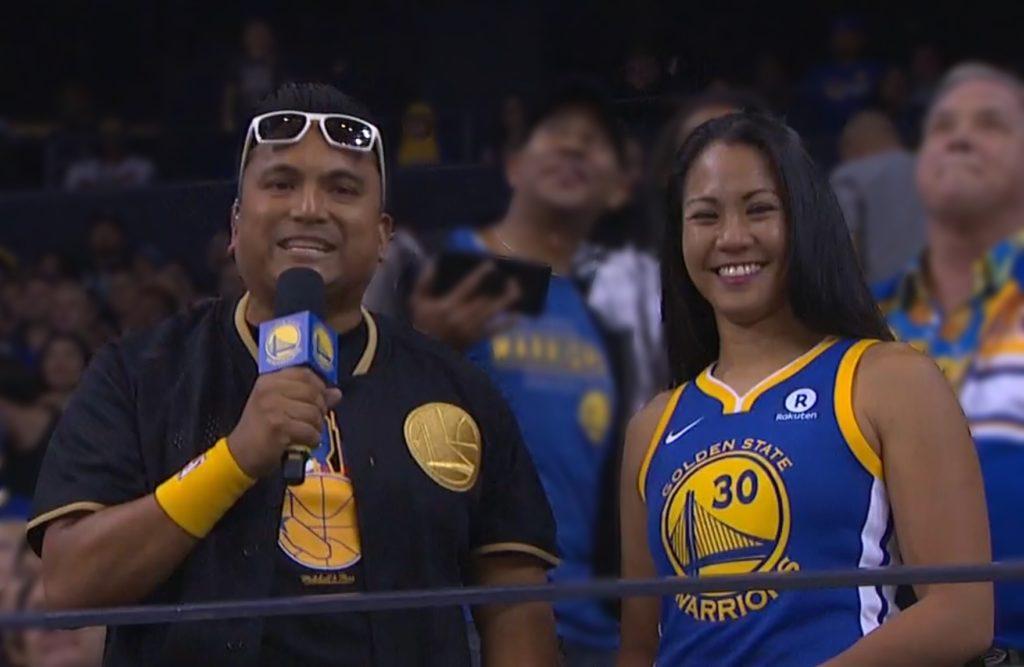 Golden State Warriors Filipino American Heritage Game