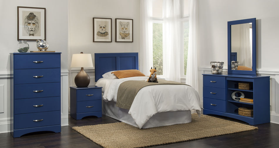Union Furniture Bedroom 179 Blue