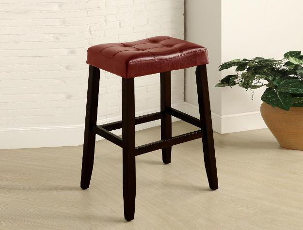 Union Furniture Dining Room 2987-RD Saddle Chair Stool