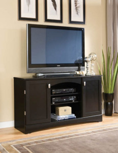 Union Furniture Entertainment Console-54-275 Black