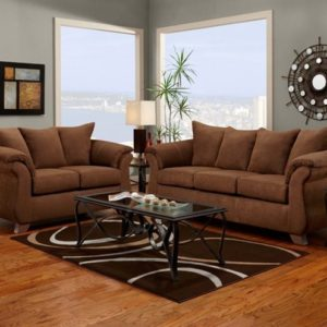 union furniture livingroom 6700 aruba chocolate
