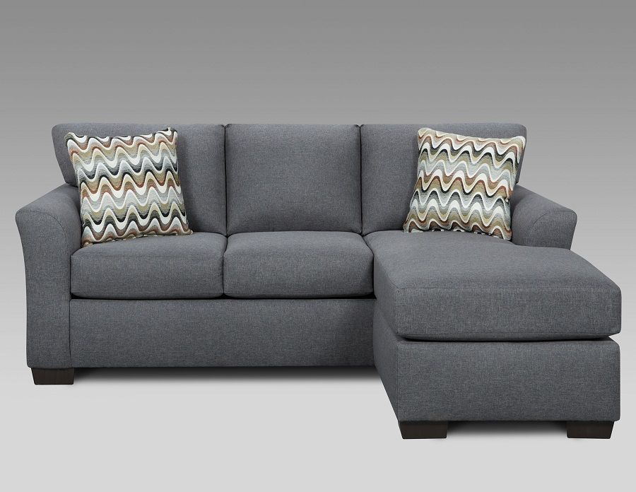 Union Furniture living room sofa chaise